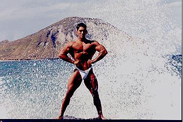 1996 Makapuu Beach Xfile Pose